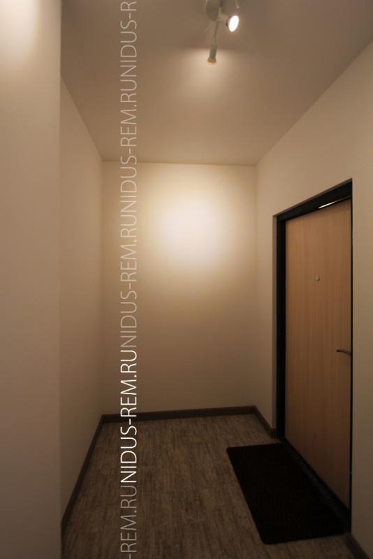 Портфолио - Ремонт квартиры-студии в ЖК Царская Столица, корридор